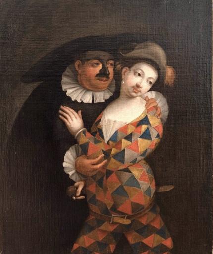 Marco MARCOLA - Pintura - Quadro Veneziano XVIII Secolo Marco Marcola