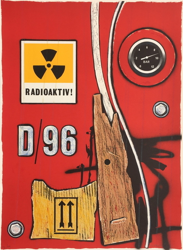 Peter KLASEN - Grabado - D96 radioaktiv !