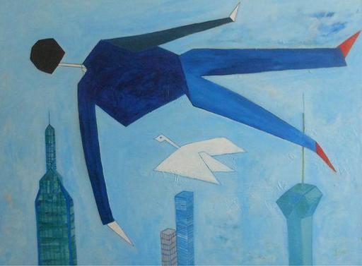 Abraham DAYAN - Peinture - Fly