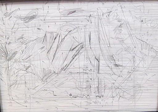 Karl KLUTH - Dibujo Acuarela - Abstrakte Zeichnung
