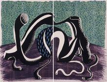 David HOCKNEY (1937) - Extending, February