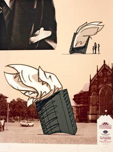 Claes Thure OLDENBURG, Architect's Handkerchief