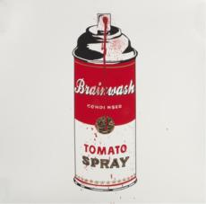 MR BRAINWASH - Estampe-Multiple - Tomato spray