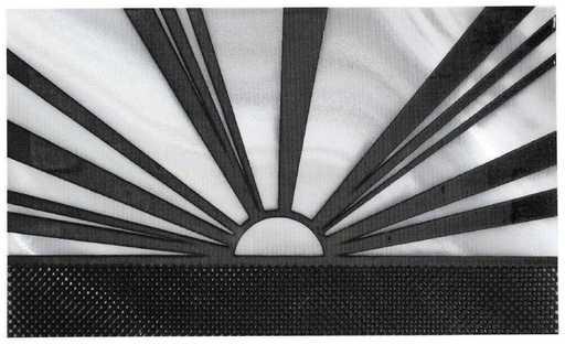 Roy LICHTENSTEIN - Stampa Multiplo - Rising sun announcement