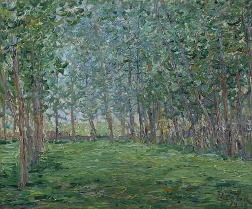 Francis PICABIA - Gemälde - Untitled ou Champ près d'un bois