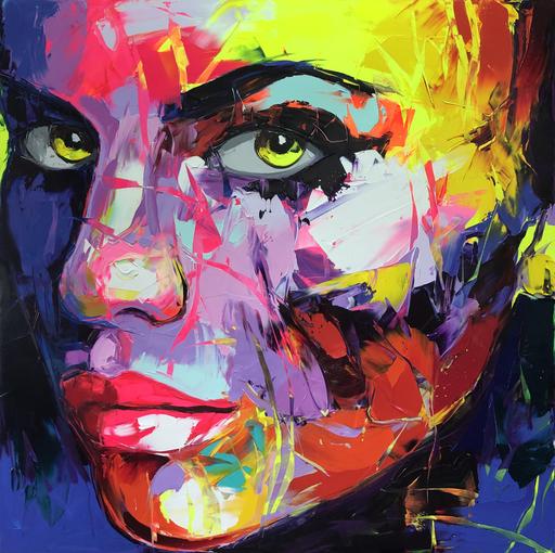 Françoise NIELLY - Peinture - Vegas