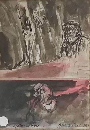 Natale ADDAMIANO - Painting - Metamorfosi