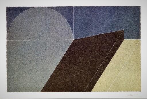 Giuseppe UNCINI - Zeichnung Aquarell - Senza titolo (dimore)