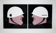 IABO - Painting - War Brand cicle (Apple VS. Samsung)