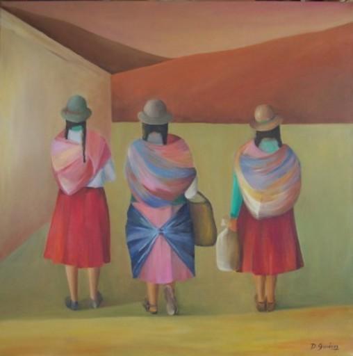 Delfina GIMÉNEZ - Painting - Domingo