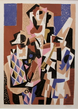 Gino SEVERINI - Estampe-Multiple - Les Musiciens