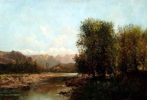Ovidio MURGUIA DE CASTRO - Pittura - PAISAJE