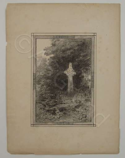 Fanny Wilmot CURREY - Dessin-Aquarelle - Via Crucis Via Lucis