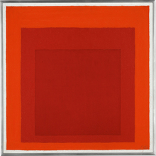 Josef ALBERS - Peinture - Homage to the Square