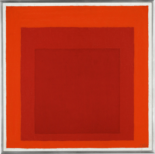 Josef ALBERS - Painting - Homage to the Square