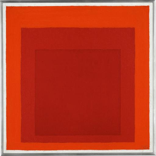 Josef ALBERS - Peinture - Homage to the Square