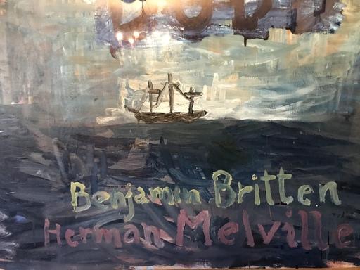Juan VILLAPUIG - Painting - BILLY BUDD - BENJAMIN BRITTEN E HERMAN MELVILLE