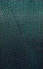 Mario NIGRO - Painting - Strutturazione simultanea-cinetica con variazione