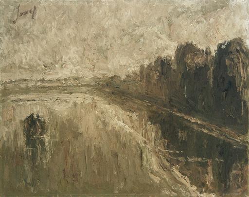 Fidelio PONCE DE LEON - Pintura - El Río