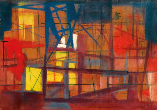 Edmondo BACCI - Peinture - Grande Fabbrica