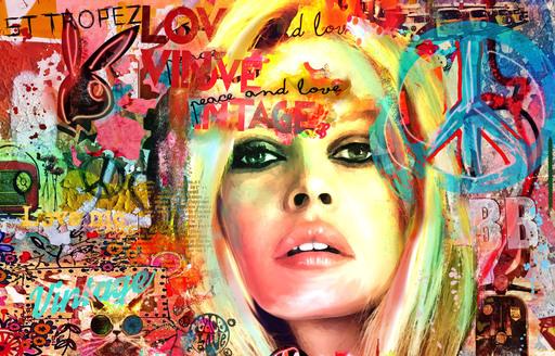 A ROSEN - Painting - BB Love