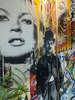 MR BRAINWASH - Painting - Juxtapose- Large 4 Panel