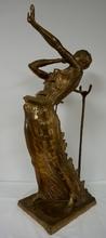 Salvador DALI - Sculpture-Volume - Woman aflame