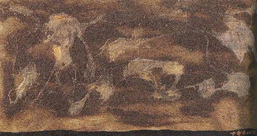 Giulio TURCATO - Gemälde - Nebuloso