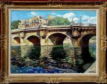 Lucien Hector JONAS - Peinture - LE PONT-NEUF A PARIS