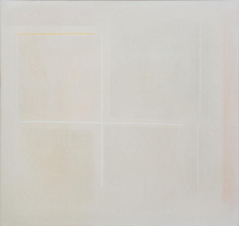 Riccardo GUARNERI - Painting - Ripensamento su quattro quadrati
