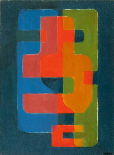 Augusto GARAU - Pittura - Senza titolo