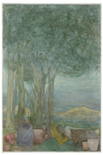 Elie ABRAHAMI - Disegno Acquarello - Summerday  I