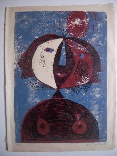 José Ygnacio BERMUDEZ - Print-Multiple - Femme