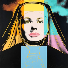Andy WARHOL - Estampe-Multiple - Ingrid Bergman, The Nun (FS II.314)