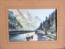 Georges DE POGEDAIEFF - Drawing-Watercolor