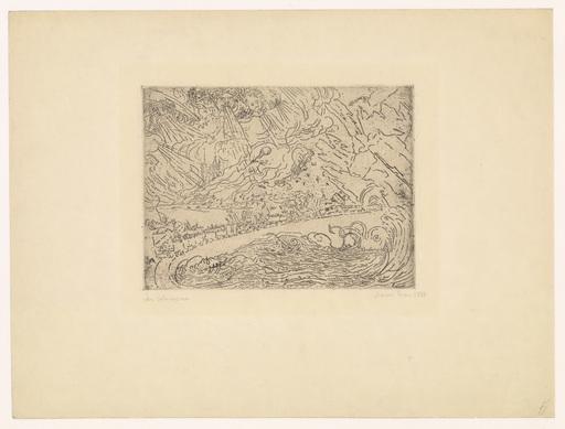 James ENSOR - Print-Multiple - Les Cataclysmes
