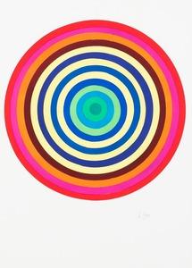 Julio LE PARC - Disegno Acquarello - Surface-couleur