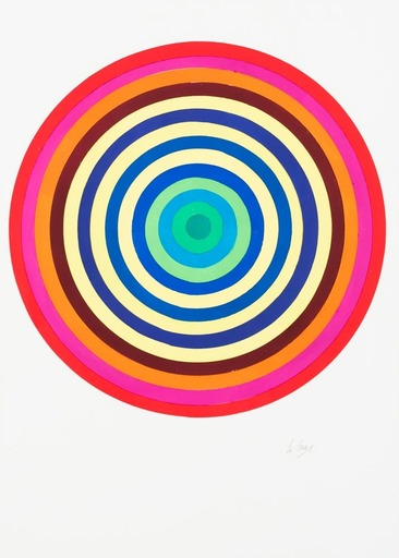 Julio LE PARC - Dessin-Aquarelle - Surface-couleur