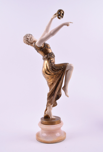 Joe DESCOMPS - Sculpture-Volume - Mask dancer