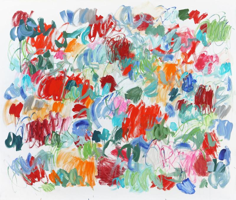 Claudie LAKS - Painting - Solstice d'été