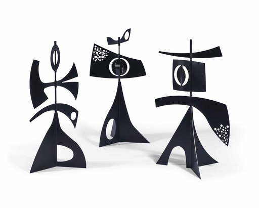 Philippe HIQUILY - Sculpture-Volume - Girouettes Marbella
