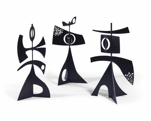 Philippe HIQUILY - Skulptur Volumen - Girouettes Marbella