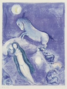 Marc CHAGALL, Pl.11 from 'Four Tales from Arabian Nights'