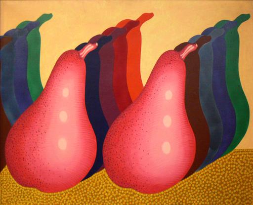 Concetto POZZATI - Painting - Il profilo della pera