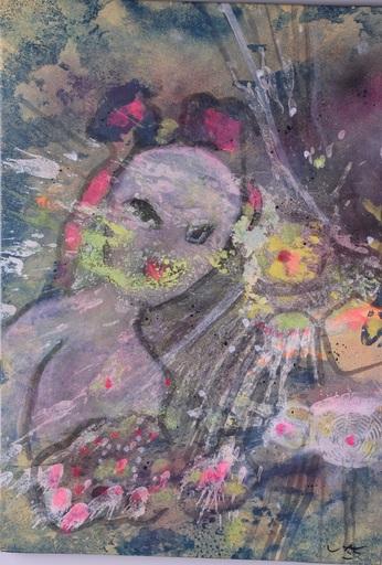 Roberto MATTA - Pittura - Amor-Psyche