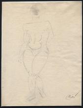 Joan MIRO (1893-1983) - Mujer desnuda