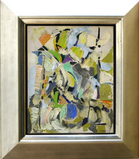 André LANSKOY - Pintura - Abstract Composition