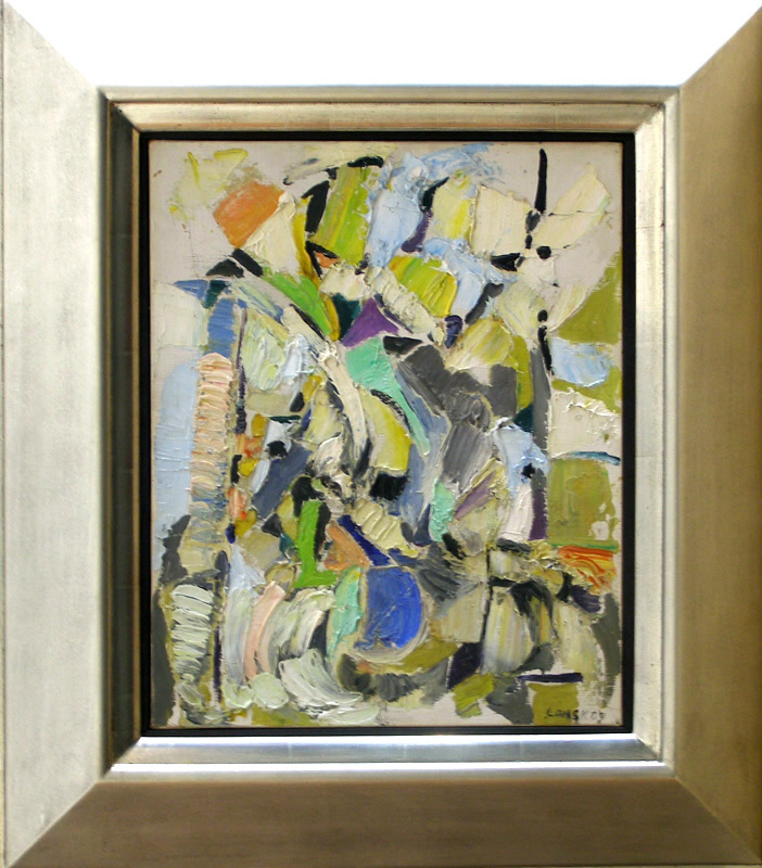 André LANSKOY - Peinture - Abstract Composition