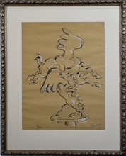 Jacques LIPCHITZ - Estampe-Multiple - Bellerophon Taming Pegasus