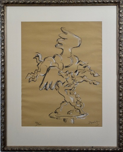 雅克 ·利普契兹 - 版画 - Bellerophon Taming Pegasus